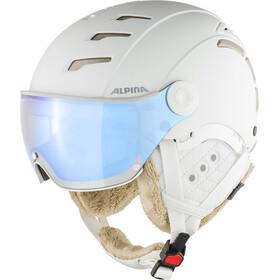 Alpina Jump 2.0 VM Casco da sci, white-prosecco matt